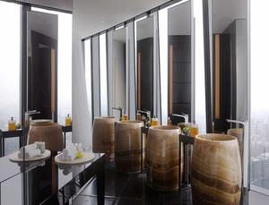 现代风格商场洗手间设计装修效果图