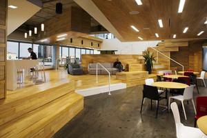 现代风格精致100平米办公室装修效果图