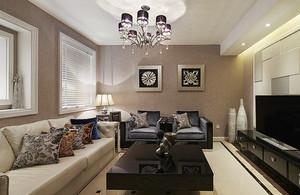 简欧风格典雅时尚120平米样板房装修效果图