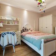 18平米简欧风格温馨儿童房设计装修效果图