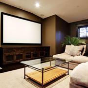 美式风格精美家庭影院设计装修效果图