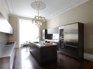 欧式风格精致厨房吊顶设计装修效果图