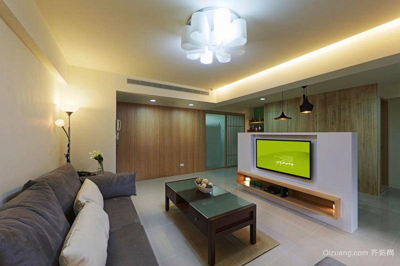 日式风格简约两居室室内设计装修效果图
