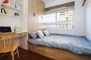 宜家风格小户型榻榻米床设计装修效果图