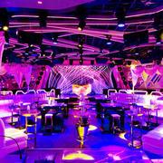 现代风格时尚100平米酒吧装修效果图