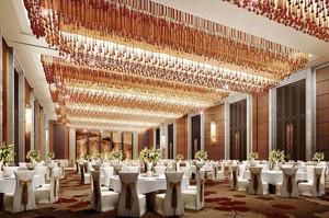 欧式风格精致酒店餐厅设计装修效果图