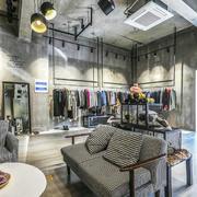 后现代风格精品服装店设计装修效果图