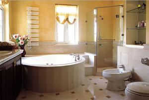 欧式风格潮流时尚卫生间装修效果图