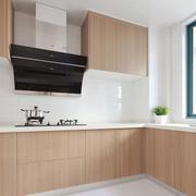 10平米简约厨房设计装修实景图