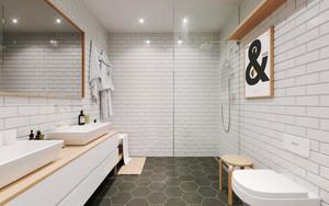 52平米简约舒适单身公寓设计装修效果图