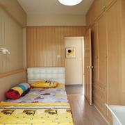 12平米现代简约儿童房设计装修效果图