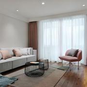 简约小户型精美客厅设计装修效果图