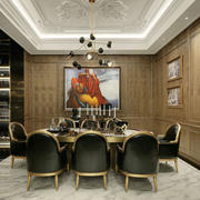 新古典主义风格餐厅设计装修效果图