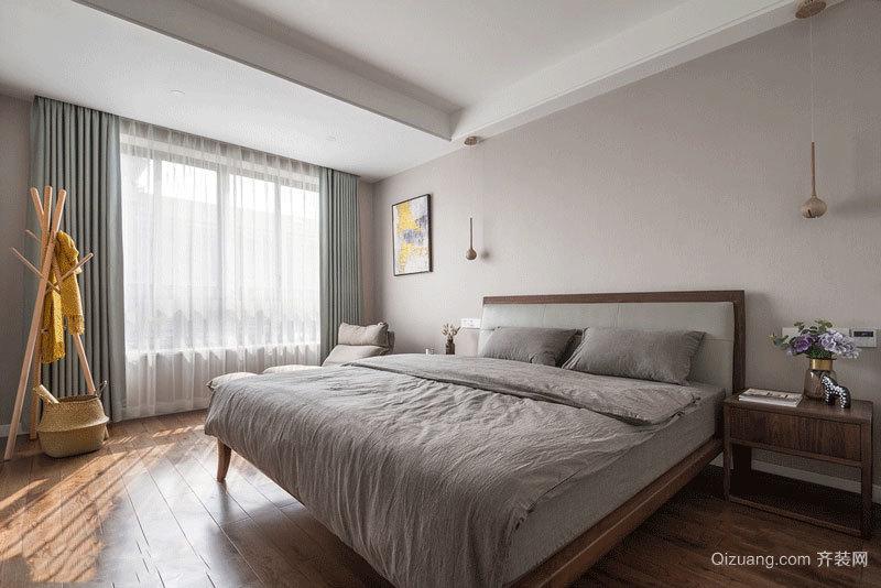宜家风格简约卧室设计装修效果图