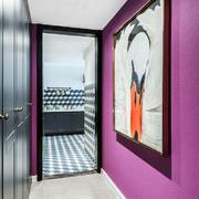 后现代风格时尚装饰画室内装修效果图