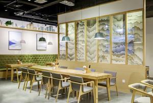 宜家风格简约餐厅隔断装修效果图