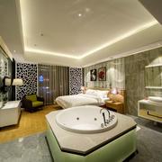 欧式风格精致主题酒店客房装修图