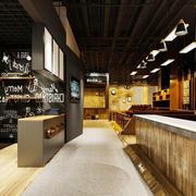 简约风格休闲咖啡厅设计装修效果图