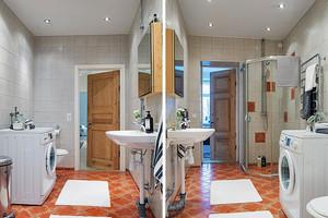 北欧风格纯洁白色112平米三室两厅装修效果图