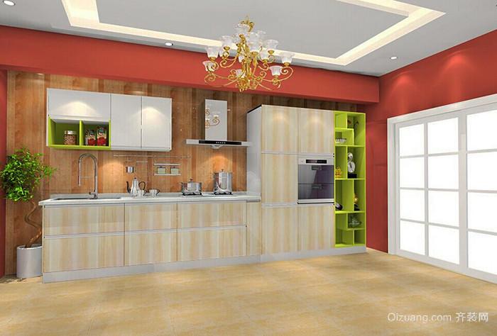 简约风格时尚厨房设计装修效果图