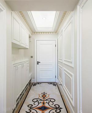 简欧风格简单实用整洁玄关设计装修图