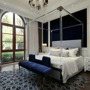 欧式风格精美别墅卧室设计装修效果图