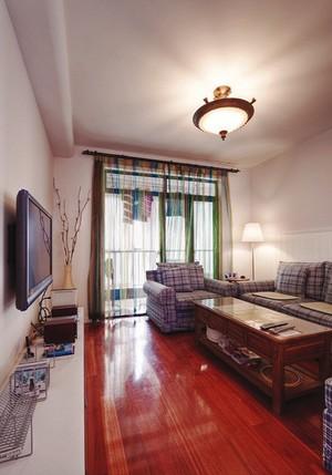 美式田园风格温馨80平米室内装修效果图