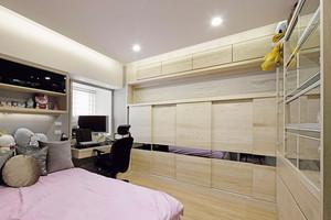 现代风格低调精致两室两厅室内设计装修效果图