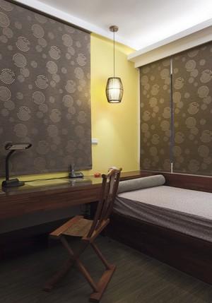 中式风格古典古朴精致大户型室内装修效果图