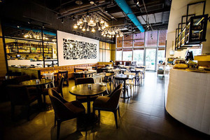 现代风格时尚西餐咖啡厅装修效果图