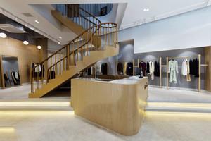 简约时尚loft服装店设计装修效果图