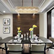 现代风格时尚精美餐厅吊灯设计装修图