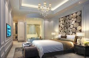 简欧风格温馨舒适卧室设计装修效果图