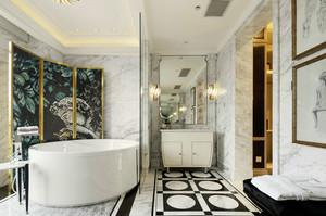欧式风格奢华精美卫生间设计装修效果图