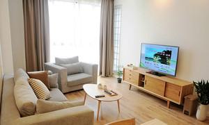日式风格简约自然89平米复式楼室内装修效果图
