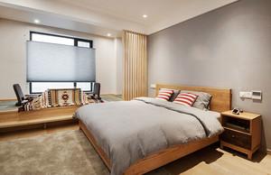 日式风格简单卧室榻榻米设计装修效果图