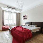 现代风格简单轻松卧室设计装修效果图