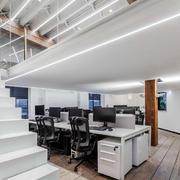 现代简约风格loft办公室装修效果图