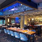 现代风格中西餐厅房间装修风格