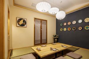 日式料理餐厅设计装修效果图
