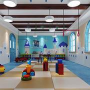 简欧风格精美幼儿园教室装修效果图