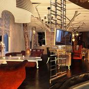 现代风格时尚小资咖啡厅装修图片