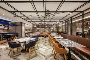 现代风格时尚西餐厅装修效果图大全