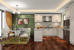 简约风格小户型厨房橱柜设计图