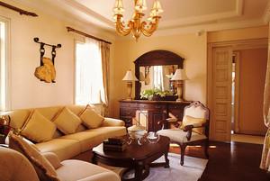 温馨舒适客厅沙发设计装修效果图赏析