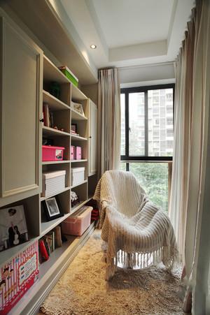 美式田园风格休闲舒适四室两厅室内装修图
