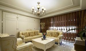 欧式风格精美时尚大户型室内装修效果图