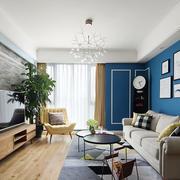 现代风格时尚精美客厅设计装修效果图