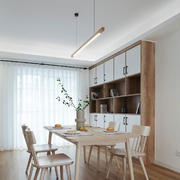 宜家风格自然舒适餐厅设计装修图