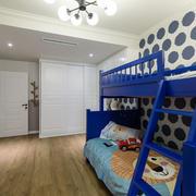 儿童房双层床装修效果图 实用又安全